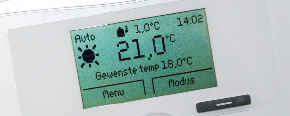 kantoor met klimaatbeheersing